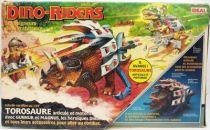 Dino Riders - Torosaurus with Gunnur & Magnus - Ideal France