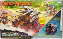 Dino Riders - Torosaurus with Gunnur & Magnus - Tyco Germany