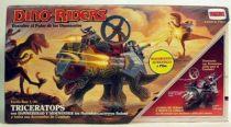 Dino Riders - Triceratops with Hammerhead & Sidewinder - Comansi