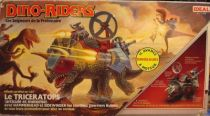 Dino Riders - Triceratops with Hammerhead & Sidewinder - Ideal France