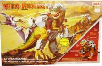 Dino Riders - Tyrannosaurus Rex with Krulos, Bitor & Cobrus - Ideal France