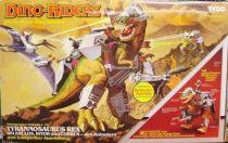 Dino Riders - Tyrannosaurus Rex with Krulos, Bitor & Cobrus - Tyco Germany