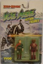 Dino Riders Ice Age - Ecco & Squish - Tyco