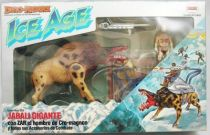 Dino Riders Ice Age - Killer Warthog with Zar - Comansi Spain