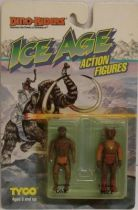 Dino Riders Ice Age - Onk & Buzz - Tyco