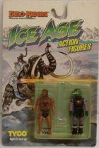Dino Riders Ice Age - Tor & Gorr - Tyco