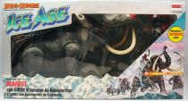 Dino Riders Ice Age - Wooly Mammoth / Mammouth Laineux & Grom - Comansi Espagne
