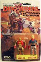 Dino Riders Series 1 -  Krulos & Questar - Tyco