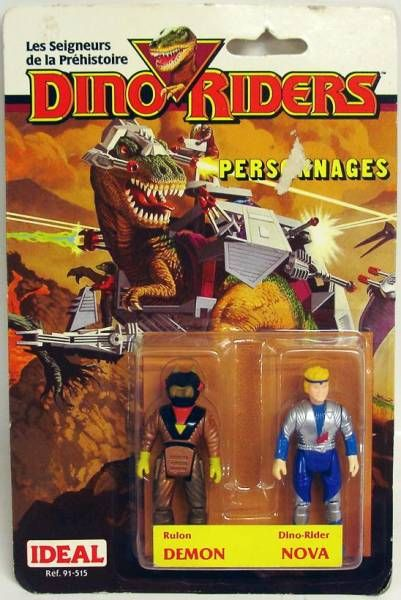 Dino Riders Series 1 - Demon & Nova - Ideal