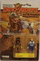 Dino Riders Series 1 - Demon & Nova - Tyco