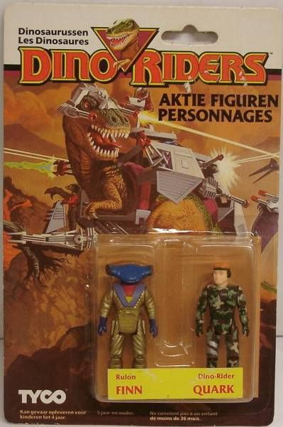 Dino Riders Series 1 - Finn & Quark - Tyco