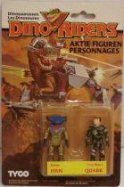 Dino Riders Series 1 - Finn & Quark - Tyco