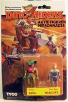 Dino Riders Series 1- Fang & Mercury - Tyco