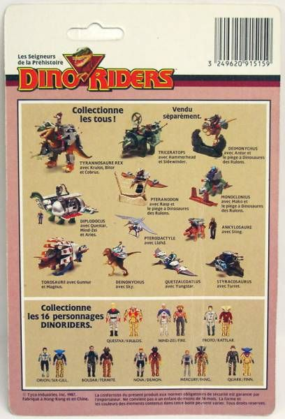Dino Riders Series 1- Six-Gill & Orion - Ideal