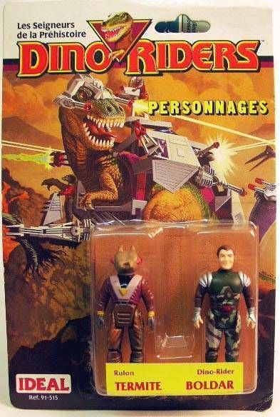 Dino Riders Series 1- Termite & Boldar - Ideal