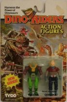 Dino Riders Series 2 - Krulos & Questar - Tyco