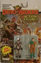 Dino Riders Series 2 - Poxx & Neutrino - Tyco