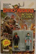 Dino Riders Series 2 - Snarrl & Ursus - Tyco