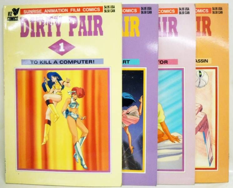Dirty Pair - Viz Comics - Dirty Pair #1 à 4