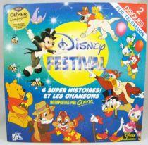 Disney Festival (interprétées par Anne) - Disque double 33T - Disques Adès 1989 01