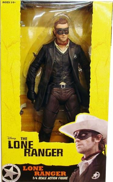 Disney\'s The Lone Ranger - Lone Ranger 1/4 Scale Action Figure - NECA