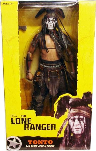 Disney\'s The Lone Ranger - Tonto 1/4 Scale Action Figure - NECA