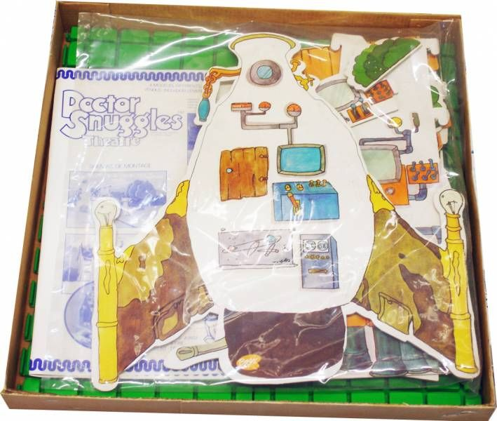 Doctor Snuggles display - Dreamy Boom Boom Rocket ship (Theatre) - Ceji Arbois