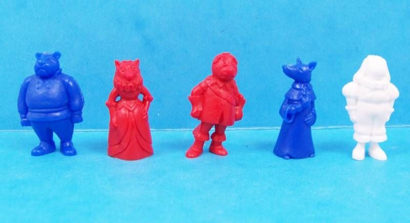 Dogtanian And The Three Muskehounds - Tito Monochrom Figures - Set of  18 figures