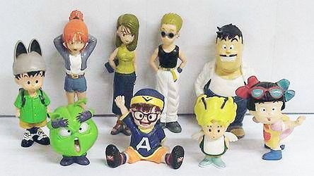 dr-slump----set-of-9-pvc-figures---tomy-p-image-253782-grande