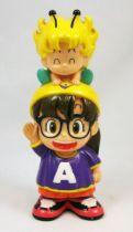 Dr Slump - Banpresto - Arale & Gatchan - Figurine tirelire 15cm
