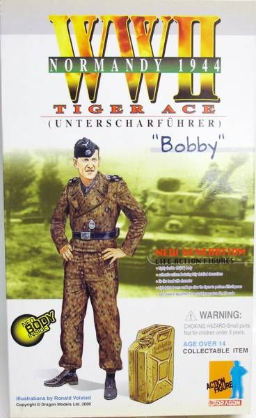 Dragon Models - BOBBY Tiger Ace (Unterscharführer) Normandy 1944