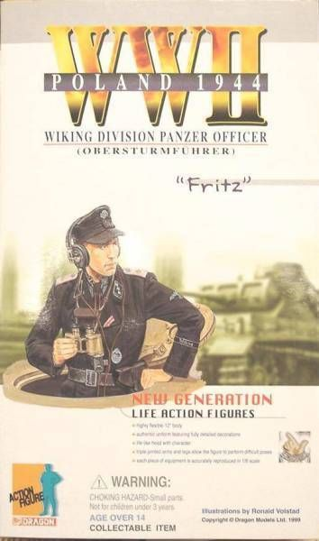 Dragon Models - FRITZ Viking Div. Pänzer Officer Obersturmfuhrer Poland 1944