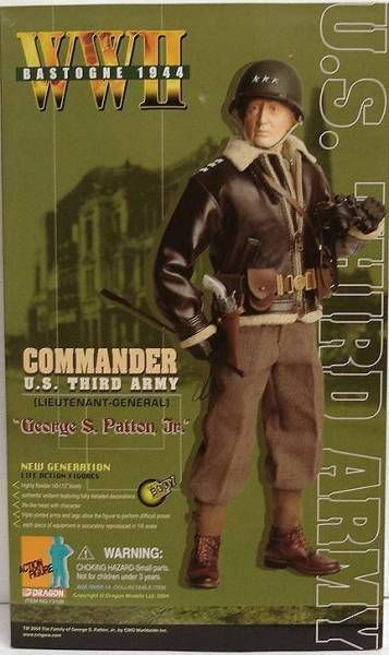 Dragon Models - GEORGE S. PATTON Jr. Commander U.S. Third Army (Lieutenant-General) - Bastogne 1944