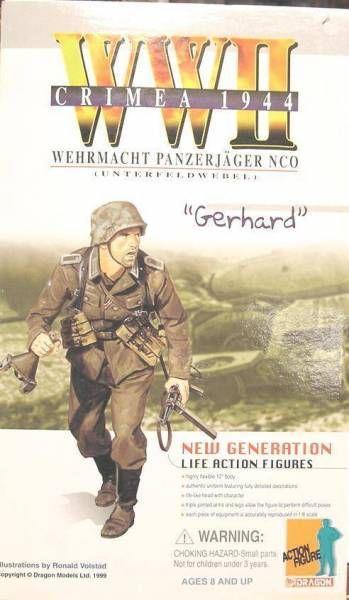 Dragon Models - GERHARD Wehrmacht Panzerjäger NCO Unterfeldwebel Crimee 1944
