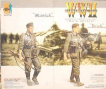 Dragon Models - HEINRICH & ERICH Wehrmacht machine gun team Barbarossa 1941