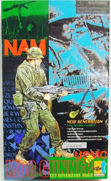 Dragon Models - JAMES USMC M60 Gunner Nam Tet Offensive 1968