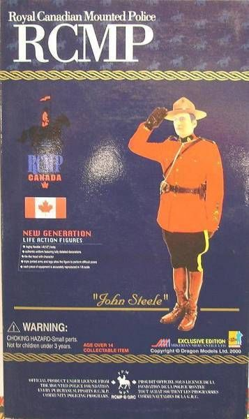 Dragon Models - JOHN STEELE Royal Canadian Mounted Police
