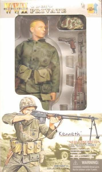 Dragon Models - KENNETH  USMC Private  Iwojiwa 1945