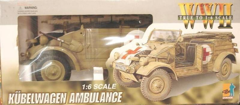Dragon Models - Kübelwagen Ambulance