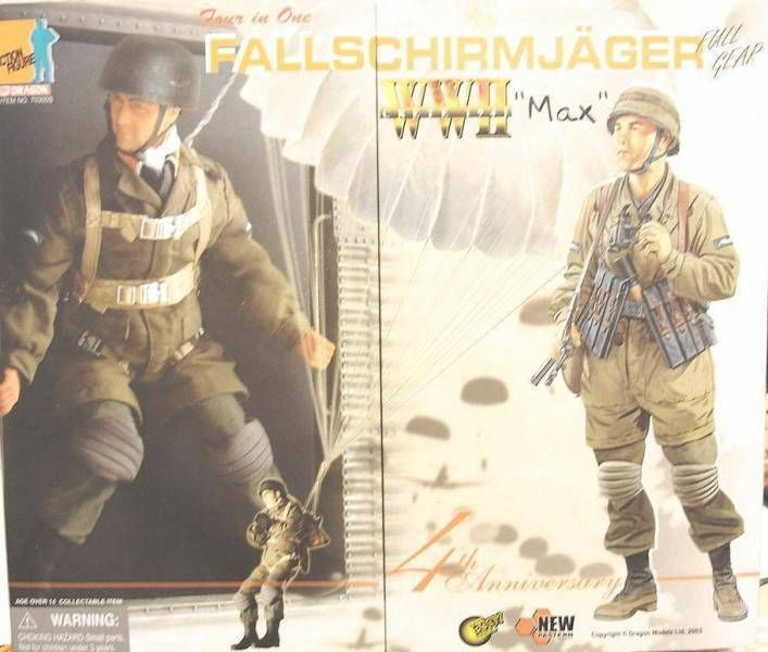 Dragon Models - MAX Fallschirmjager Crete 1941 4th anniv. (4 in 1)