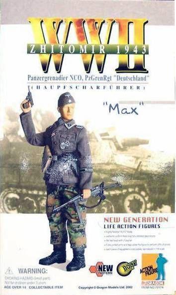 Dragon Models - MAX Panzergrenadier NCO, PzGrenRgt \'\'Deutschland\'\' Zhitomir 1943