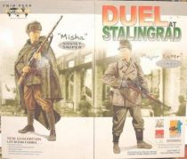 Dragon Models - MISHA vs. MAJOR KATER  \'\'Duel at Stalingrad\'\' Soviet Sniper & German Jager