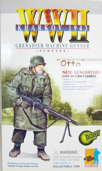 Dragon Models - OTTO Grenadier Machine Gunner (Schütze) Kharkov 1943