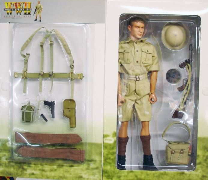 Dragon Models - REGGIE British 8th Army (Sergeant) North Africa 1942