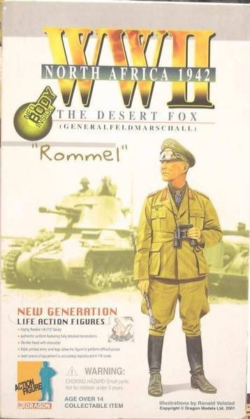 Dragon Models - ROMMEL The Desert Fox (Generalfeldmarschall) North Afrika 1942