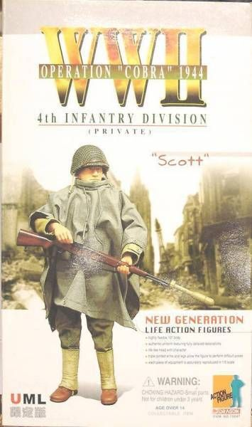 Dragon Models - SCOTT 4th Infantry Div. Operation \'\'Cobra\'\' 1944