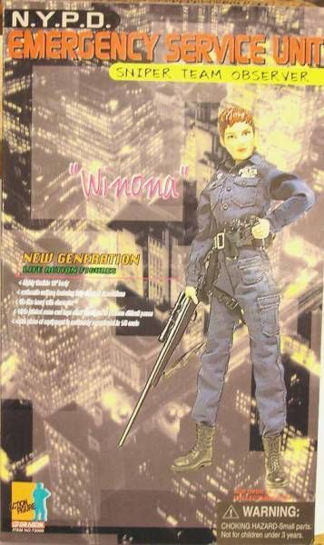 Dragon Models - WINONA NYPD Emergence Service Unit