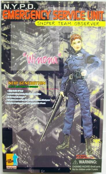 Dragon Models - WINONA NYPD Emergency Service Unit Sniper Team Observer