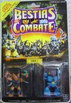 Dragonautes (Battle Beasts) - #12 Blitzkrieg Bat & #11 Grizzly Bear
