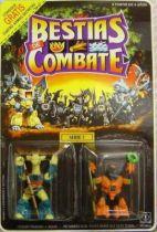 Dragonautes (Battle Beasts) - #17 Rubberneck Giraffe & #18 Hardtop Tortoise